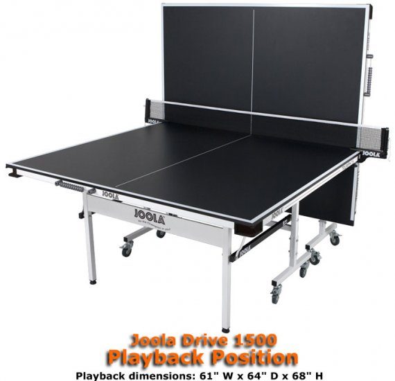 Joola Drive 1500 Table Tennis Table Larger Image