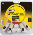 Stiga Classic 4 Player table tennis racket Set