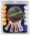 JOOLA Family Table Tennis Racket Set