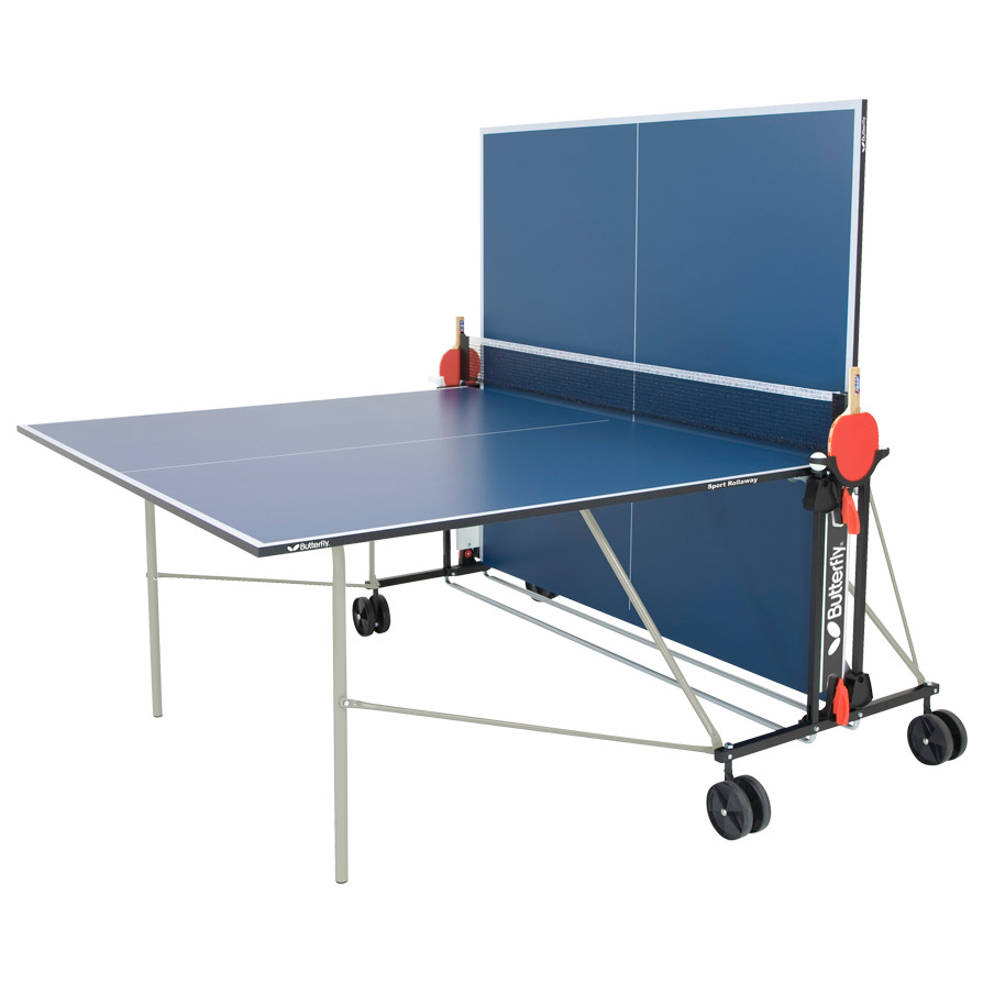 Sport rollaway table tennis table tr18 warehouse pick up for Table tennis 99