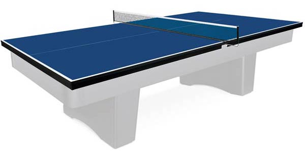Martin Kilpatrick Table Tennis blue 19mm Conversion Top