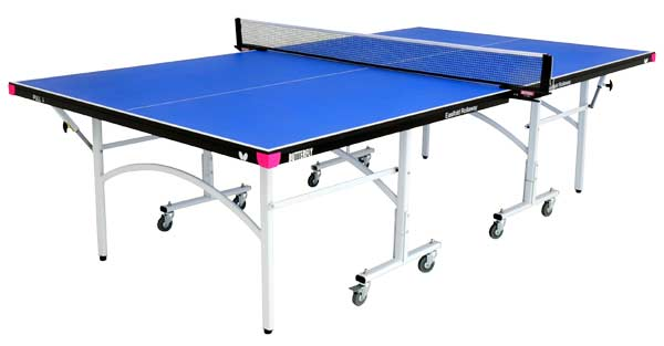Butterfly TR27B Easifold Rollaway Blue Table Tennis Table