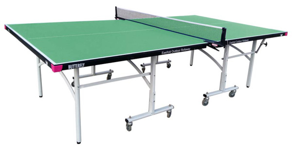 Butterfly Easifold Outdoor Green Table Tennis Table