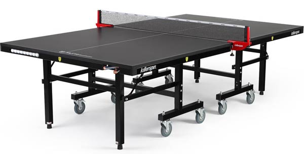 Killerspin MyT10 BlackPocket Table Tennis Table