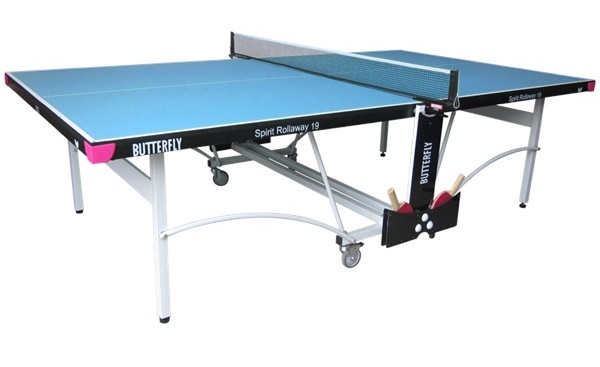 Butterfly Spirit 19 Blue Table Tennis Table