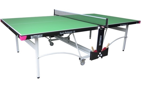 Butterfly Spirit 19 Rollaway Table Tennis Table