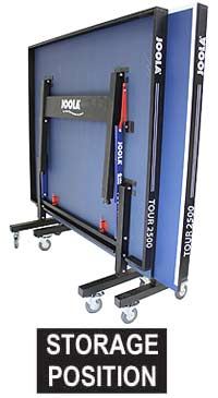 Joola Tour 2500 storage size